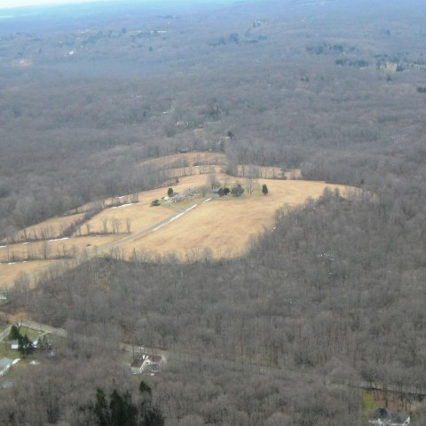 Holcombe Hill Aerial view